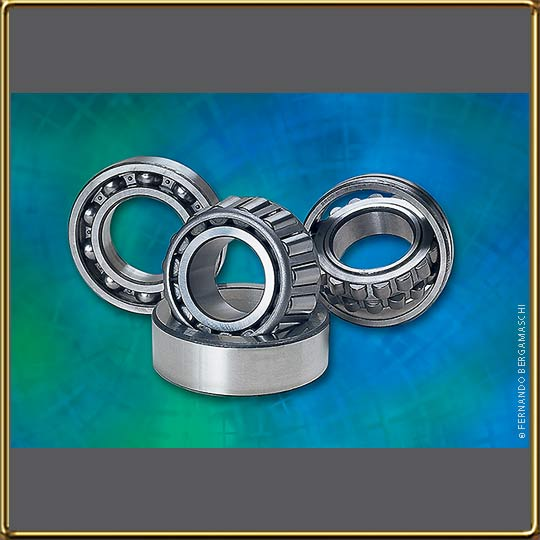 Ball bearings photo montage