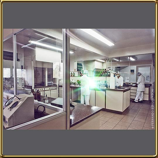 Chemical test laboratory