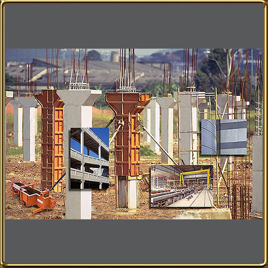 Prestressed concrete mold